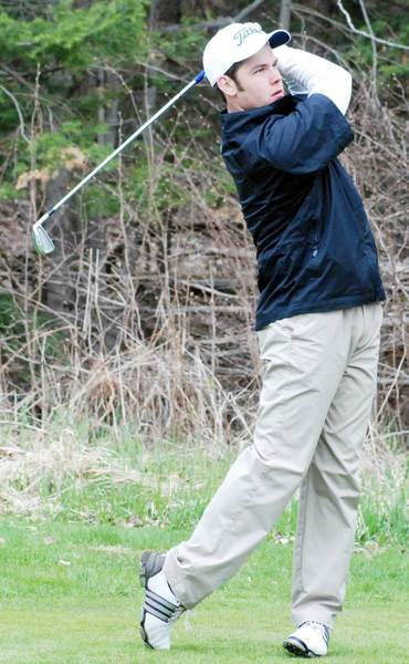 Senior Hunter Pulaski begins his fourth year on the Petoskey High School golf team. He is one of several returning Northmen veterans.