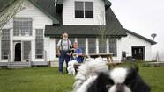 Judy Lucker-Mierzwa and Gene Mierzwa have a home in rural Will County along the path of the proposed Illiana Expressway. A measure in the Illinois Legislature would allow the state to quickly seize land associated with the project. (Brian Cassella, Tribune photo / April 3, 2012)