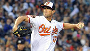 Everyone on the Orioles was pulling big-time for Brian Matusz last night at Camden Yards. Why wouldn't they? He's a good kid who struggled through a horrendous (1-9, 10.69 ERA) 2011 season. And the big lefty is being counted on heavily -- again -- this season as the Orioles try to avoid another year of being cannon fodder for the rest of the AL East.