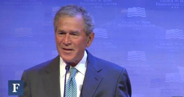 "Bush: ""I wish they weren't called the Bush tax cuts"""