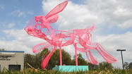 "Pictures: ""Pink Rabbit"" unveiling"
