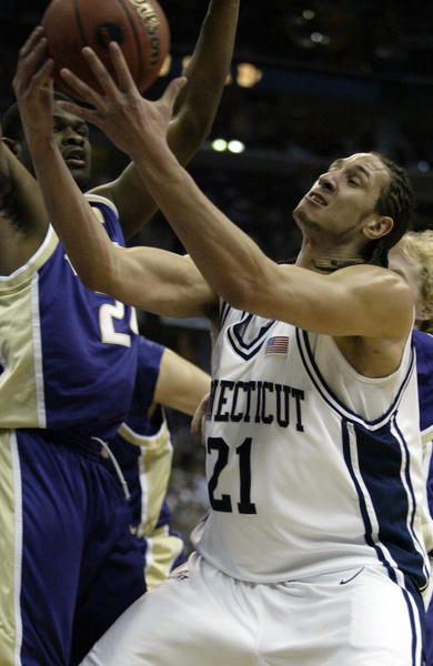 Josh Boone, a junior, was the 23rd player selected in the 2006 NBA Draft. He was chosen by New Jersey after the Nets had taken teammate Marcus Williams an No. 22.