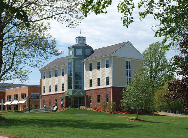 Mitchell College, a small college in New London, spent $3.8 million building the Duquès Center, a career center that also contains tutoring and advising areas. It's named for Ric and Dawn Brill Duquès, and she received an associate's degree from Mitchell. A spokeswoman did not reveal the size of the donation, but said it was under $1 million.