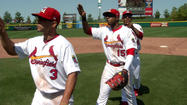 ¿<strong>SPRINGFIELD, MO</strong>– After being held hitless for the first 6 innings the Cardinals broke out with 3 runs in the 7th, adding 2 more in the 8th to secure a 5-2 comeback win over Midland and the teams first series win this season.