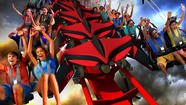 X-Flight wing coaster premieres at Six Flags Great Ame