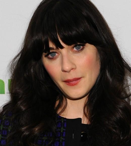 "Deschanel has quirky down. But should Ana be that cutesy? Besides, Deschanel is busy with her adorkable series ""New Girl."""