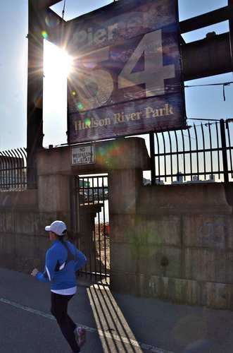 Manhattan's Pier 54, now a bare slab, is where the Carpathia delivered Titanic survivors.