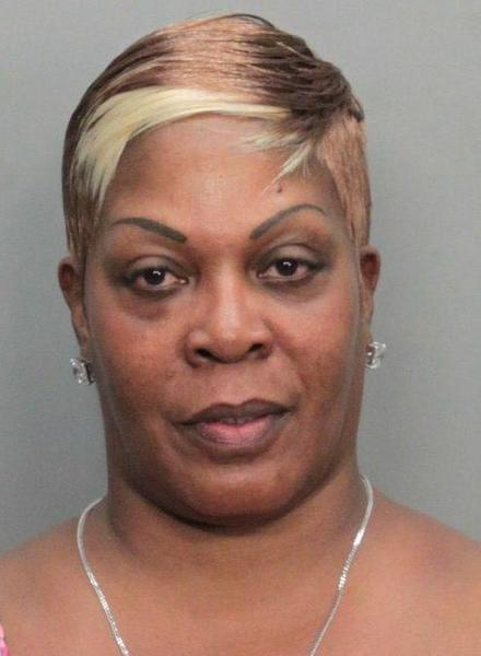 Brunetta Brown is charged and accused of throwing a syringe at another guest on the Spanish language `Cristina¿ TV talk show