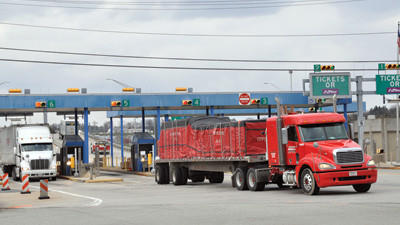 The Pennsylvania Turnpike Commission is spending approximately $4.5 million to eliminate the congestion near the turnpike toll plaza in Somerset. The project will alter the traffic patterns on the turnpike access road.