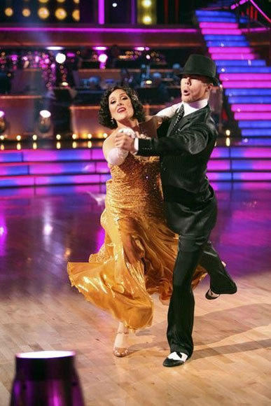 'Dancing with the Stars': Illnesses and injuries: Ricki Lake bruised her leg when she appearently cut the heel of one of her shoes into the shin of her other leg. She tweeted a photo, but wasnt seriously hurt. (Season 13)