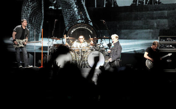 Van Halen at BankAtlantic Center, April 10, 2012