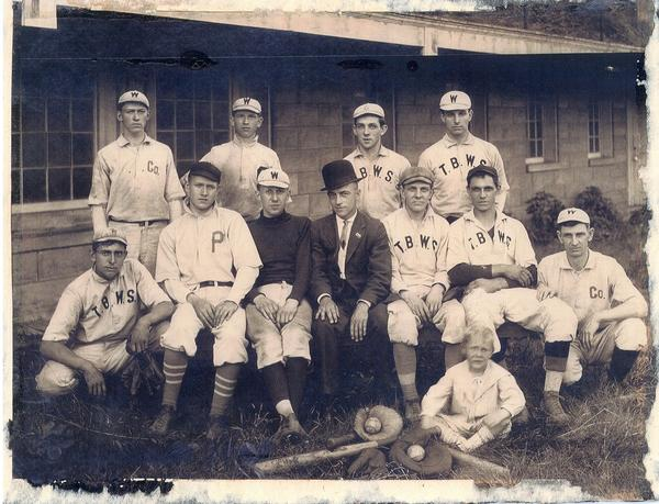 "Allison-Antrim Museum in Greencastle, Pa., opens a new exhibit featuring the history of local baseball teams and players. The display includes the jersey of Charles ""King"" Lear, third from left, who pitched for Mercersburg Academy and Princeton University and is credited with inventing the knuckleball."