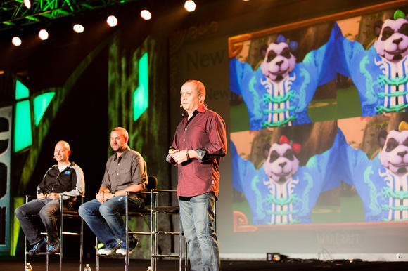 """World of Warcraft"" Lead Systems Designer Greg Street addresses fans at BlizzCon 2011."