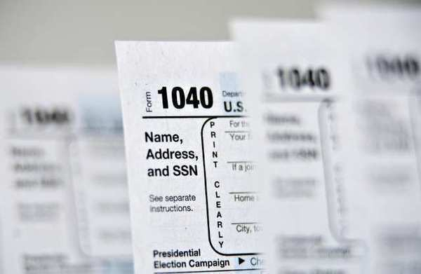 U.S. Department of the Treasury Internal Revenue Service 1040 Individual Income Tax forms. Tax Day often sees a spike in fatal car crashes, according to the Journal of the American Medical Assn.