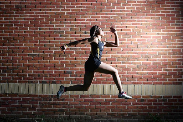 Girls indoor track: Speedy Wilkins led Vikings to banner ...