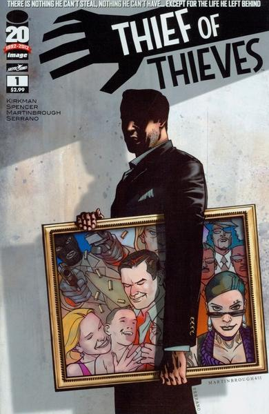 "Robert Kirkman is developing his comic, ""Thief of Thieves,"" for AMC."