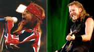 Axl Rose vs. James Hetfield