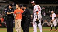Amnesty for trespassing at Oriole Park appears to be over