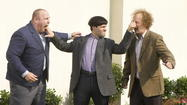 Nyuks outnumber laughs in 'Three Stooges' ✭✭