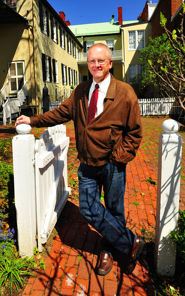 Roger Fairbourn is president of the Washington County Historical Society board of directors. He has been a member for five years and says he enjoys learning about local buildings.