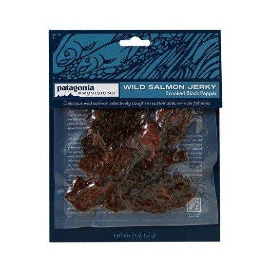 Outdoor apparel-maker Patagonia moves into food, with its Patagonia Provisions line of wild salmon jerky.