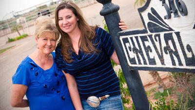 Cheryl and Carly Bogue: Taking the Reins
