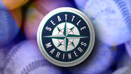 A struggling Mariners offense erupted for three runs in the top of the ninth inning off Rangers closer Joe Nathan as Seattle snapped a seven-game losing streak to Texas with a 4-3 victory on Wednesday night.