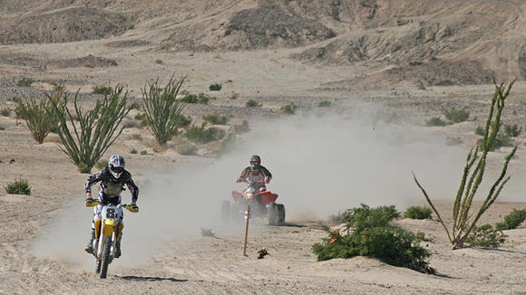 Speed Limit 100 race in Plaster City