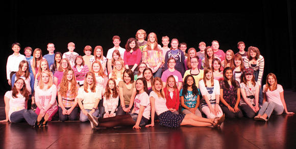 "Kim Raugh, executive producer of ""A Little Princess"" at the Richland Performing Arts Center, said students have taken the show and made it their own."