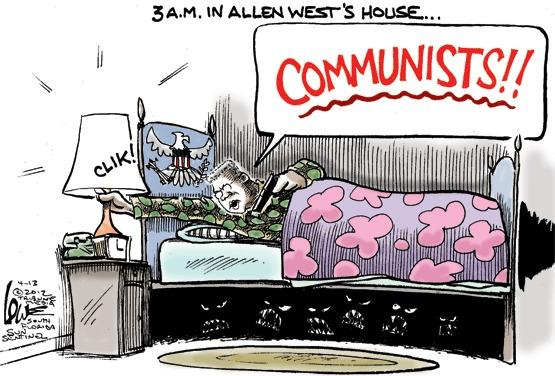 Allen West and communists