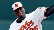 Left-hander <strong>Dontrelle Willis</strong>, who left Triple-A Norfolk's game Wednesday after nine pitches, has been placed on the seven-day disabled list with a left forearm strain.