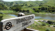 The Trans-Catalina Trail, which traverses 37.2 miles from Avalon ending at Starlight Beach.