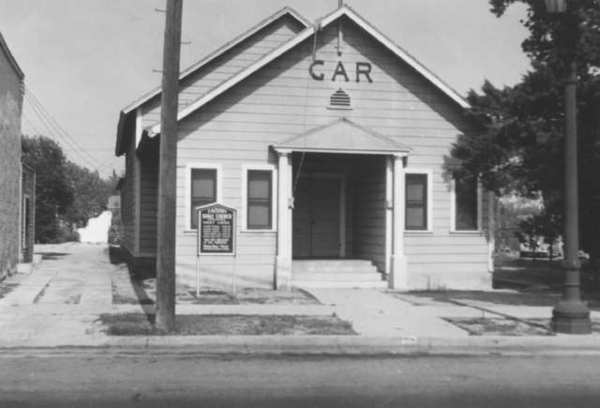 This small building on Glendale Avenue was home to the Grand Army of the Republic, a group of Civil War Veterans who settled in this area after the war. The building was later turned over to the Disabled American Veterans. Photo, ca 1940.