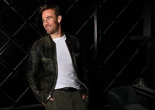 Celebrity portraits by The Times: James Van Der Beek, the former Dawsons Creek heartthrob, plays a version of himself in the new sitcom Dont Trust the B-- in Apartment 23.