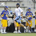 Johns Hopkins men's lacrosse defenseman Jack Reilly