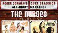 "The latest in Shout Factory's Roger Corman series compiles four movies from the early '70s — ""Private Duty Nurses"" (1971), ""Night Call Nurses"" (1972), ""The Young Nurses"" (1973) and ""Candy Stripe Nurses"" (1974) — directed by George Armitage (""Miami Blues,"" ""Grosse Point Blank""), Jonathan Kaplan (""Over the Edge,"" ""The Accused""), actor Clint Kimbrough, and Alan Holleb, respectively. There are no ongoing characters, though a few of the same actors show up in more than one entry."