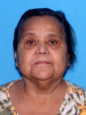 Amelia Miranda, 75, wandered away from home in Lake Worth and turned up in Boca Raton