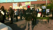 Protest at Woodlawn Mental Health Center