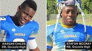 Kissimmee Osceola pair RB Stafon McCray, DB  Hassan Childs pick up recruiting momentum