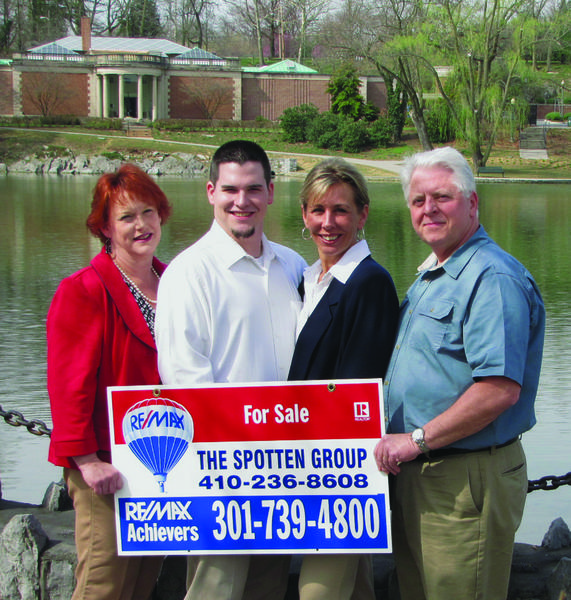 The Spotten Group, from left, Debby Spotten, Will Robinson, Michelle Deming and Bill Spotten.