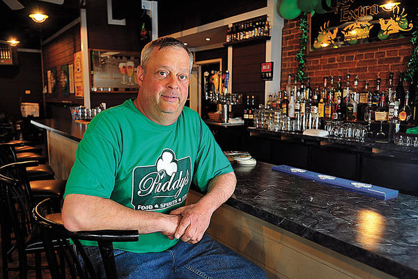 Patrick D. Riley owns Paddy's, an Irish pub at 210 W. Liberty St. in Charles Town, W.Va.