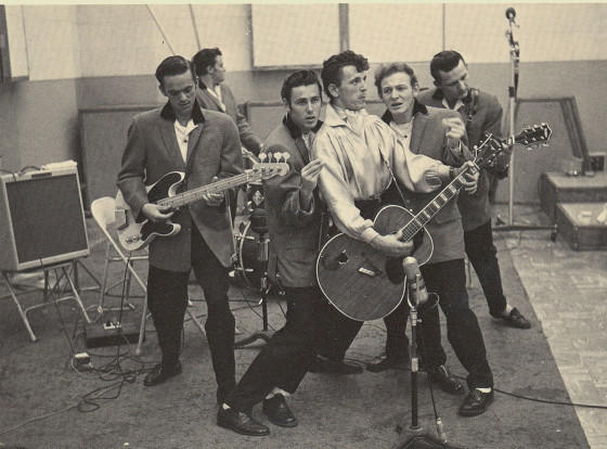 Gene Vincent's Blue Caps will be inducted into the Rock and Roll Hall of Fame on April 14, 2012.