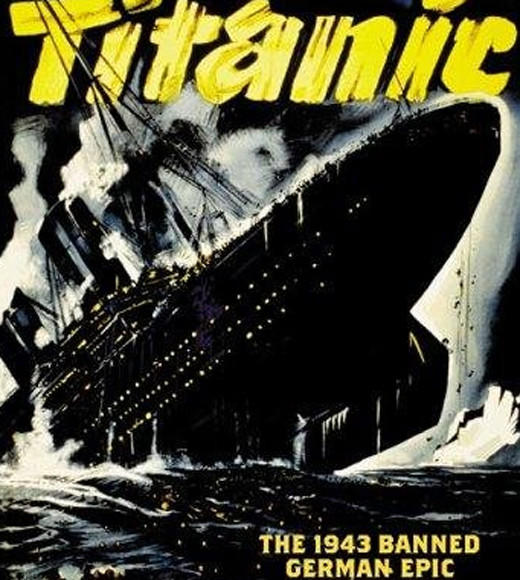 Titanic: The movies, books, even a video game: Bet you didnt know the first Titanic on-screen depiction was a World War II German propaganda film, did you? This movie was commissioned by Nazi Minister Joseph Goebbels and depicts German passengers and crew as brave heroes, and U.S. and British passengers and crew as greedy capitalist cowards.