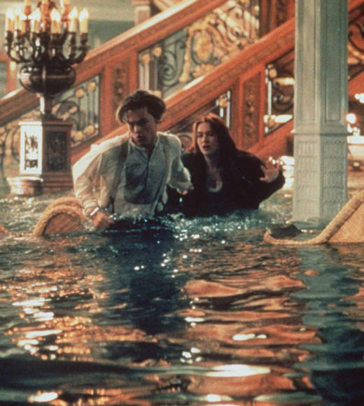 Titanic: The movies, books, even a video game: You may have heard of this little movie. It ran over three hours, earned 11 Oscars and starred Leonard DiCaprio and Kate Winslet. The initial reviews were glowing, but as it became that generations Twilight, critics cooled a bit.