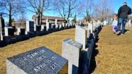 Halifax, Canada — A cold wind ripped through Fairview Lawn Cemetery. Then came the frigid rain. In a minute, I was thinking, the headstones will be shivering.