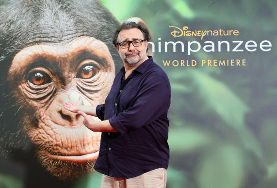 Don Hahn, executive producer, during the red carpet premiere of the Disney Nature film, Chimpanzee, at Downtown Disney in Orlando Florida, on Friday, April 13, 2012.