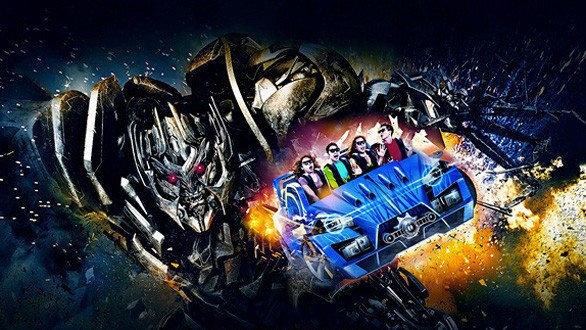 Save the Planet from Decepticons in Universal Studios Singapore Transformers Ride