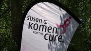"<span style=""font-size: small;"">More than 25 hundred people will converge on downtown Roanoke Saturday morning to move their feet in the Susan G Komen Race for the Cure. With just hours to go before the race, Elmwood Park was a busy place Friday as the work went on to prepare for the event.</span>"