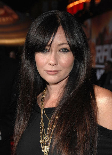 "While she played a sassy witch on the TV show ""Charmed,"" most remember <a class=""taxInlineTagLink"" id=""PECLB001423"" title=""Shannen Doherty"" href=""/topic/entertainment/shannen-doherty-PECLB001423.topic"">Shannen Doherty</a> as femme fatale Heather on "" <a class=""taxInlineTagLink"" id=""PLGEO100100102380800"" title=""Beverly Hills"" href=""/topic/us/california/los-angeles-county/los-angeles/beverly-hills-PLGEO100100102380800.topic"">Beverly Hills</a>: 90210."" She turns 34 today. (Photo by John Shearer/WireImage)"