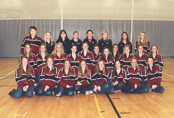 The 2012 Charlevoix Rayder varsity girls soccer team.